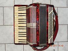 Hohner Verdi II acordeon 80 contrabajos 34 diskantta 2 chore, mocoso densa, juego listo