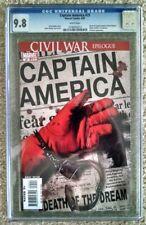 Captain America #25  CGC 9.8 (Apr 2007, Marvel) Death Of Captain America