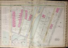 1888 BOSTON & ALBANY RAIL ROAD LIEF ERICSON STATUE CHARLES GATE EAST ATLAS MAP