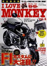 [BOOK] I LOVE HONDA MONKEY vol.4 Yoshimura BAJA Gorilla 6V 12V Z50 Z50A Japan FI