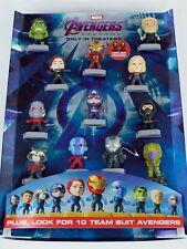 Mc Donalds Avengers End Game Display NIB COMPLETE SET FAST SHIP!!!