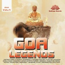 GOA LEGENDS 4 (INDRA, SIXSENSE, QUANTUM, ASTRAL PROJECTION,...) 2 CD NEU