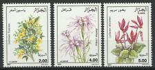 ALGERIA 1991 FLOWERS SET MINT