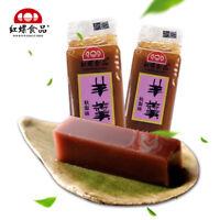 Chinese Food Snacks Beijing Specialty Yanggeng 中国小吃零食 红螺食品栗子羹羊羹糕传统素食小吃500g Haihk