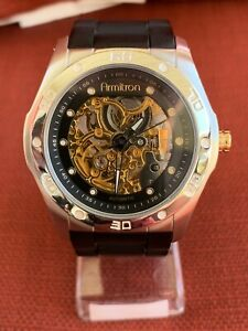 Armitron Automatic Skeleton Dial Men's Watch 20/440STT TY2807SV