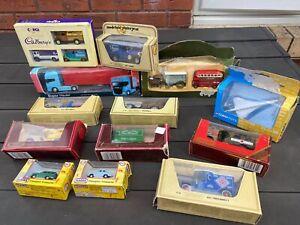 Corgi, Matchbox & Others Joblot / Collection In Boxes - Vintage / Retro Models