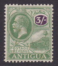 Antigua. SG 79, 3/- green & violet. Fine mounted mint.