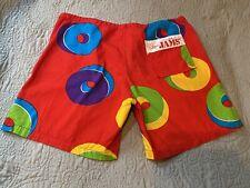 Original Jams Surf Line Hawaii Board Shorts Sz Medium 32-36� Vtg 80's 90's Usa