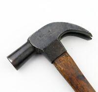 Antique 12.8 Oz Carpenter's Claw Hammer D MAYDOLE