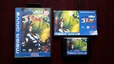 Earthworm Jim (Sega Mega Drive) European Version Pal