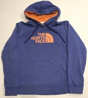 Womens Large The North Face Big Logo Spellout Pullover Hooded Sweatshirt Hoodie