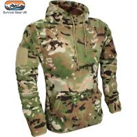 Viper Tactical Mens Hoodie Warm Fleece Army Military Polar Camo Sweater VCAM