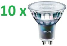 10 x Philips MASTER expertcolor FARETTO LED GU10 3,9 -35W 2700K DIMMERABILE 36D