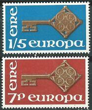 IRLANDA EUROPA cept 1968 Sin Fijasellos MNH