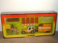 Jeep & Horse Box Corgi Pony Club - Corgi 29 England in Box *37675