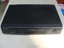 Panasonic Vhs Vcr Super Drive Ag-1330P Pro-Line Video Cassette Recorder