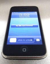 APPLE IPHONE 3GS 16GB BLACK - MODEL A1303 (AT&T) - BAD VIBRATOR READ BELOW
