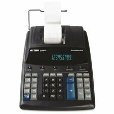 "Victor 14604 Printing Calculator - 12 Character[s] - Fluorescent - 3.3"" X 8"" -"