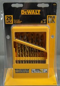 Dewalt DW1369 29PC Titanium Drill Bit Set NEW AND SEALED