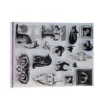 Stamp Paper Cat Album Decoration Animal Rubber Craft DIY Rubber Stamps