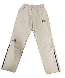 Adidas NCAA East Carolina Uni. Squad Woven Pants Grey/Purple DH5578
