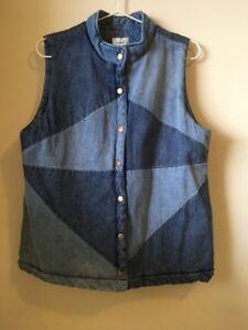 seed Women's jeans Vest Size 12