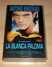 VHS Film - La Blanca Paloma - Die weiße Taube - Antonio Banderas - Videokassette