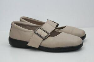 Ladies Hotter Comfort Concept Casual Beige Flat Slip On Shoes Size UK 5.5