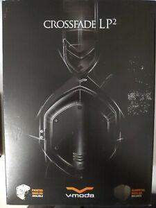 V-MODA Crossfade OverEar Headphones LP2 Vocal Limited Edition Over-Ear Metal NIB