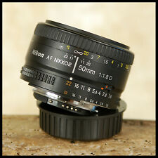 SUPERB QUALITY Nikon Digital fit AF 50mm F1.8 D Prime Standard lens Low Light