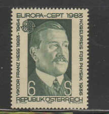 Austria #1245 1983 Victor Franz Hess Mint Vf Nh O.G