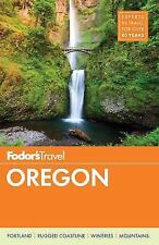 2017 Fodor's Travel Guide Oregon Full Color Very Helpful!