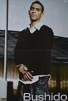 BUSHIDO - A3 Poster (ca. 42 x 28 cm) - Clippings Fan Sammlung NEU