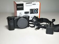Sony a6000 24.3MP 2k Shutter Count (Body Only) Digital Camera *please read*