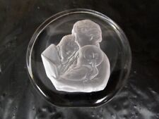 Danbury Mint Crystal Sculpture - Mother's Day - (1981) Numbered