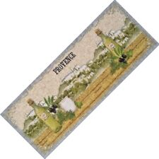 Kitchen Runner Provence Oil Green 59 1/8in Doormats Rug Mat