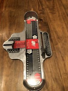 Genuine Brannock Device, New Balance, Men/Women Foot Measurement Tool USA