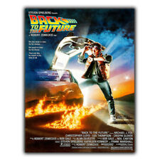 BACK TO THE FUTURE METAL SIGN WALL PLAQUE Film Movie poster print mancave cinema
