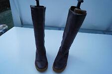 JVBO Damen Winter Schuhe Stiefel Boots warm gefüttert Keilabsatz Keil Gr.5 / 38