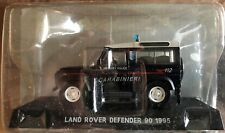 "DIE CAST "" LAND ROVER DEFENDER 90 1995 MILITARY POLICE "" SCALE 1/43 CARABINIERI"