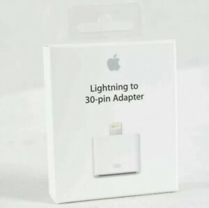 🔥Official Genuine Apple Lightning To 30 Pin Adapter iPhone/iPod/iPad MD823AM