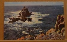 Posted 1963 Postcard Longships Lighthouse, Lands end, Cornwall