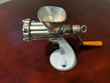 Antique Spong and co Meat Grinder Suction Based Vintage Made in England