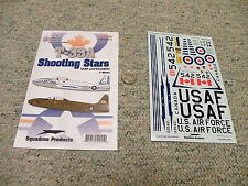 Superscale decals 1/32 MS320255 T-33A Shooting Stars USA Canada   L126