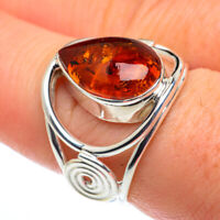 Baltic Amber 925 Sterling Silver Ring Size 8 Ana Co Jewelry R62495F