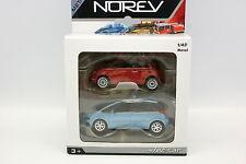 Norev 1/43 - Fiat 500 et Citroen C4 Picasso