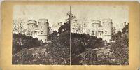Château Windsor Castle UK Foto Stereo Vintage Albumina