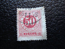 SUEDE - timbre yvert et tellier n° 24B obl (A9) stamp sweden
