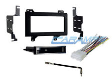 NEW SINGLE OR DOUBLE 2 DIN CAR STEREO TRUCK INSTALLATION KIT WITH WIRING HARNESS