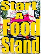 Make Money Start Food Concession Stand Trailer  HOW TO have Your own Business